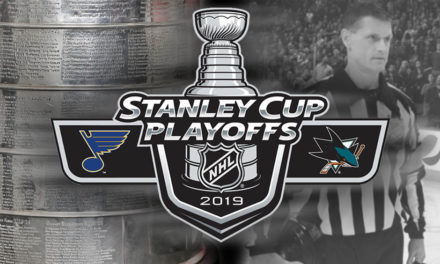 Tonight's NHL Stanley Cup Playoff Referees and Linesmen – 5/17/19