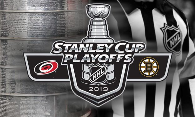 Tonight's NHL Stanley Cup Playoff Referees and Linesmen – 5/16/19