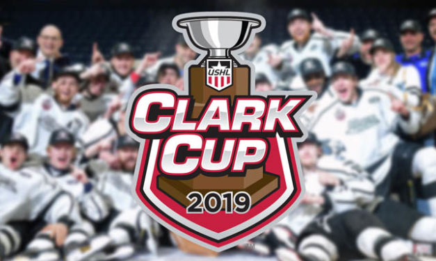 USHL Referees and Linesman for 2019 Clark Cup Final