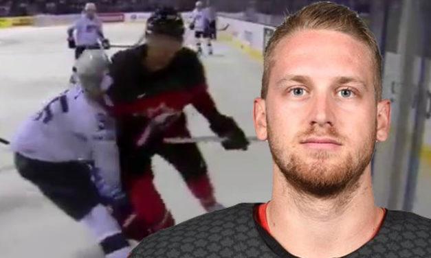 IIHF Suspends Canada's Mantha at World Championship