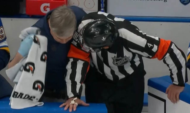 Referee Wes McCauley Injured in Game 6 of Western Conference Final