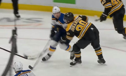 Blues' Barbashev Faces Hearing for Headshot on Bruins Johansson