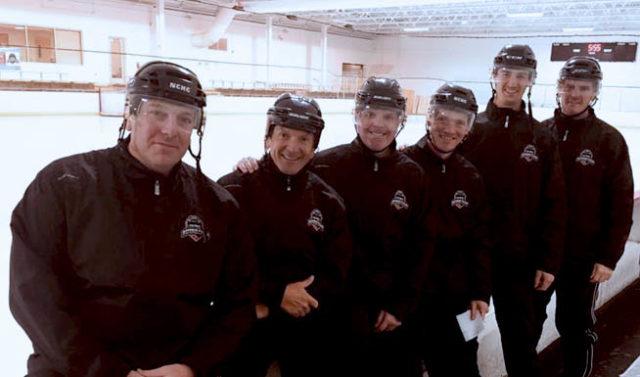 Tim Peel Referee Camp instructors Scott Bokal, Tim Peel, Andy Hudson, Joe Sullivan, Addison Brush, and Shaun Morgan