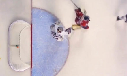 OHL Goalie Gets Match Penalty for Head Slash