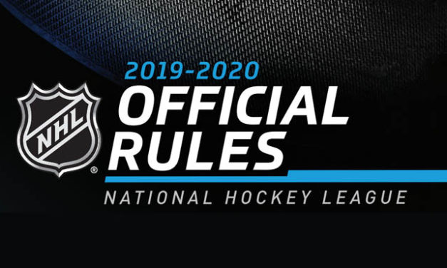 NHL Rulebook – 2019-20 Updates