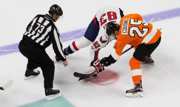 NHL Linesmen Handling Faceoffs After Goals, Starting OT