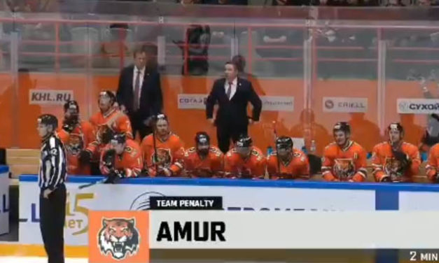 KHL Coach Threatens to Torch Ref's Car