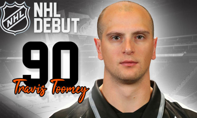 Linesman Travis Toomey to Make NHL Debut