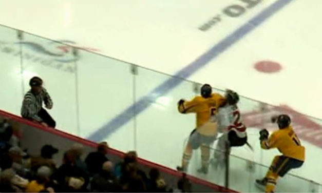 QMJHL Suspends Cataractes' Lepage 5 Games for Elbowing