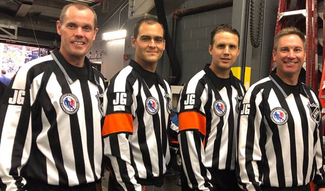 NHL Officials To Wear 'JG' Patch Honoring Jim Gregory