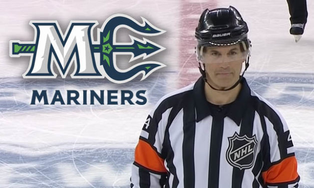 ECHL's Maine Mariners Celebrate Wes McCauley Night