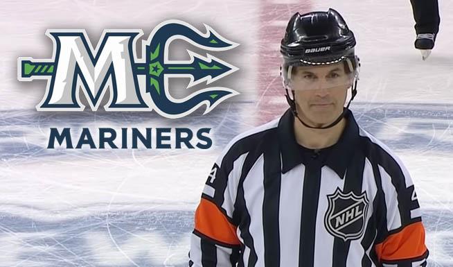 ECHL's Maine Mariners Celebrate Wes McCauley Night