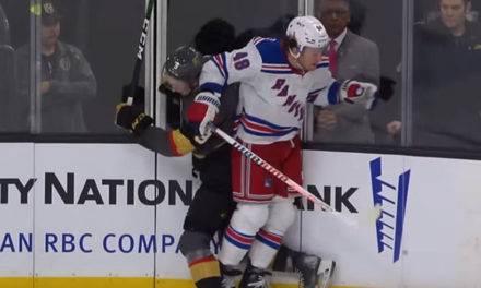 Rangers' Lemieux Fined $2000 for Elbowing