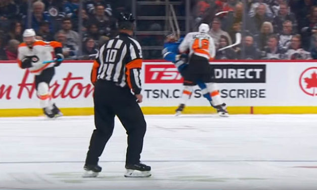Flyers' Farabee Awaits Player Safety Ruling for Late Hit on Jets' Perrault