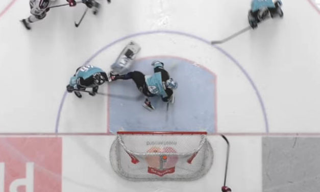 Goal Scored After Finnish League Goaltender Loses Leg Pad