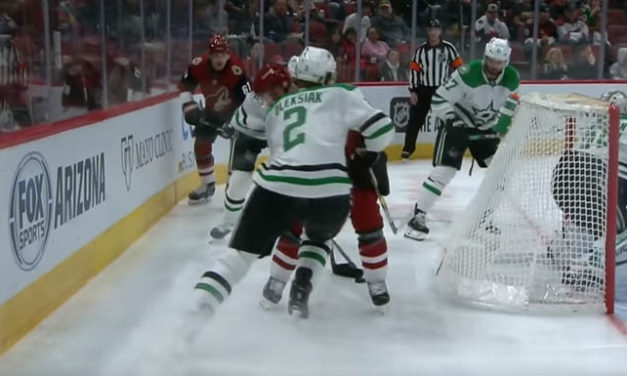 Stars' Oleksiak's Major Penalty Reduced After Refs Review Stepan Hit