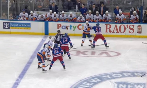 Rangers' Smith, Isles' Martin Both Tossed For Second Fight During Stoppage