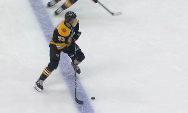 Bruins Goal Stands After Canucks Challenge for Offside