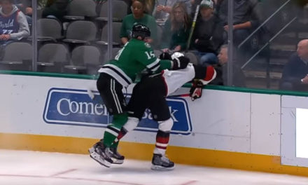 No Suspension for Stars' Benn After Ejection for Boarding Coyotes' Ekman-Larsson