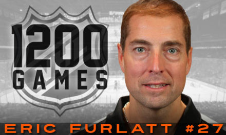 Referee Eric Furlatt to Work 1200th NHL Game