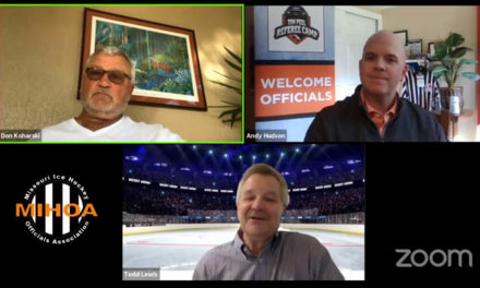 NHL Officiating Manager and Retired Ref Don Koharski on MIHOA Live