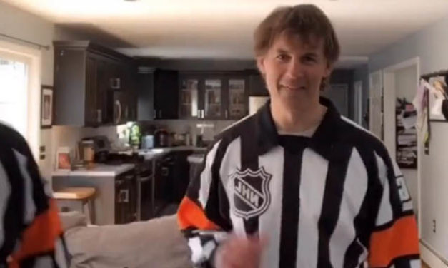 Referee Wes McCauley's Family Puts on the Stripes