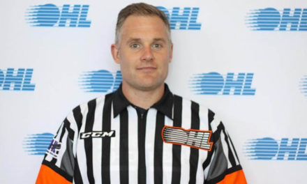 OHL Referee Jason Faist Honored with Bodie Award