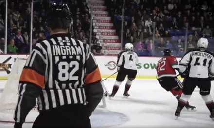WHL Names Referee Jeff Ingram Official of the Year
