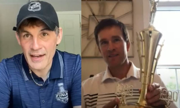 NHL Referee, Linesman Join Celebs for High School Virtual Awards Ceremony