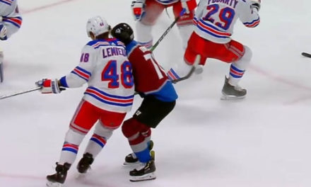 Rangers' Lemieux Suspended Two Games for Interference