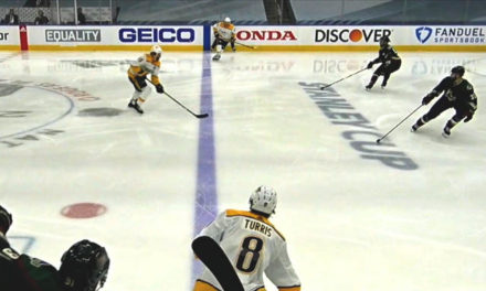 Predators Goal Wiped Out By Coyotes Offside Challenge