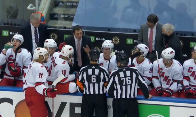 Canes' Brind'Amour Fined $25,000 for Officiating Remarks