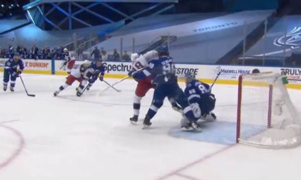 Lightning Rally After Failed Coach's Challenge Confirms CBJ Goal