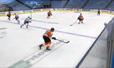 Isles' Game-Tying Goal Ruled Onside After Coach's Challenge