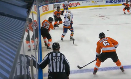 No Penalty the Right Call for High Stick on Isles' Barzal