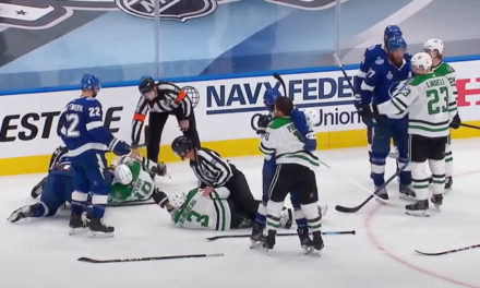 Stars Point to Penalties in Game 2 Loss