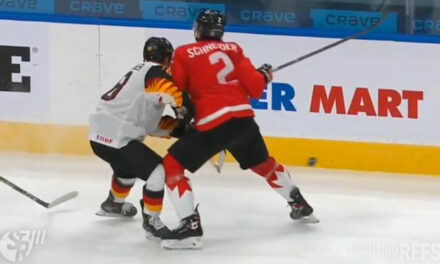 WJC: Canada's Schneider Suspended for Check to Head