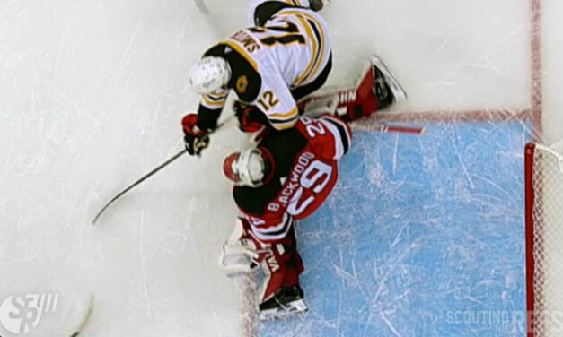 Bruins Unsuccessfully Challenge Goaltender Interference