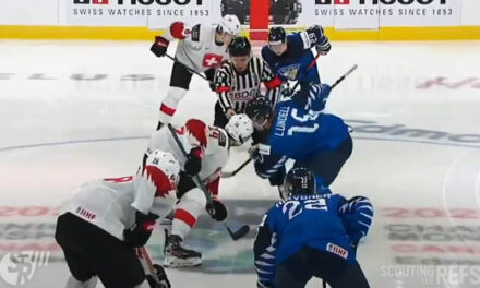 World Juniors Refs Mic'd Up for Puck Drops