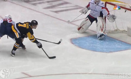 NHL Confirms Pens' Game-Tying Goal After Puck Hits Goal Cam