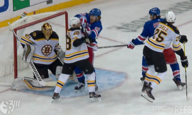 Rangers Goal Stands After High-Stick Review