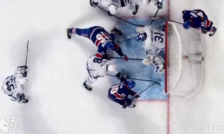 Habs Goal Confirmed, then Overturned via Video Review