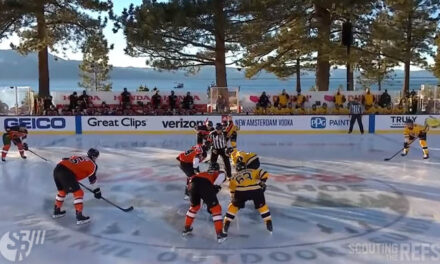 Refs McCauley, Sutherland Mic'd Up for Bruins/Flyers at Lake Tahoe