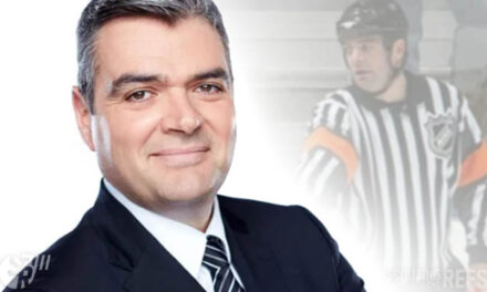 NHL Referee Stéphane Auger Talks Habs, Penalties, and Ref Life