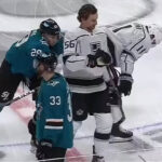 Sharks' Gabriel Fined $3,017 for Pre-Game Cross-Check
