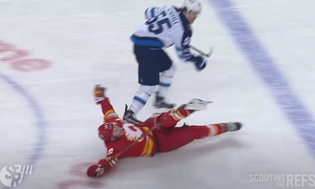 Flames' Tkachuk: How Not to Draw A Penalty