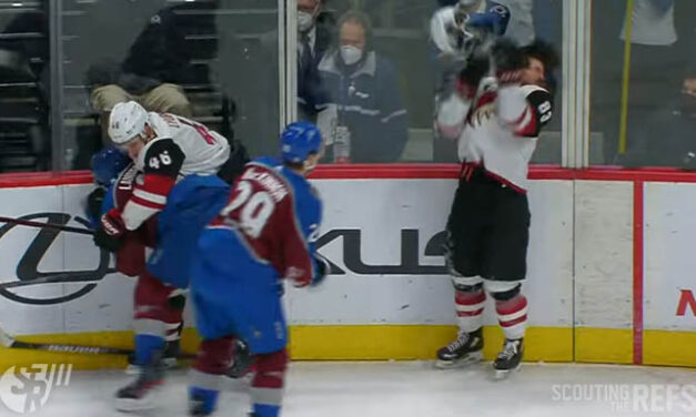 Avs' MacKinnon Given Misconduct, $5000 Fine for Throwing Helmet