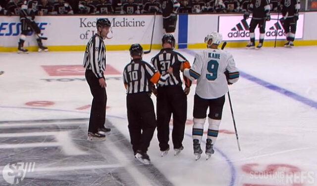 Referee Pierre Lambert Injured at San Jose Sharks vs. LA Kings