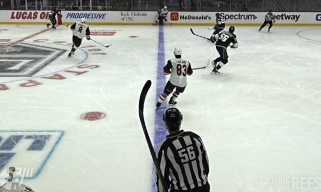 Coyotes Ruled Onside After Kings Challenge Bunting's Hat Trick Goal