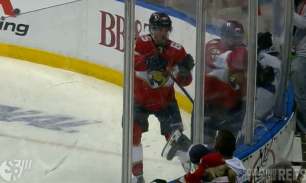 Panthers' Bennett Suspended One Playoff Game for Boarding Bolts' Coleman